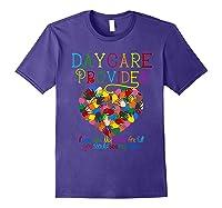 Daycare Provider Tshirt Appreciation Gift Childcare Tea Purple