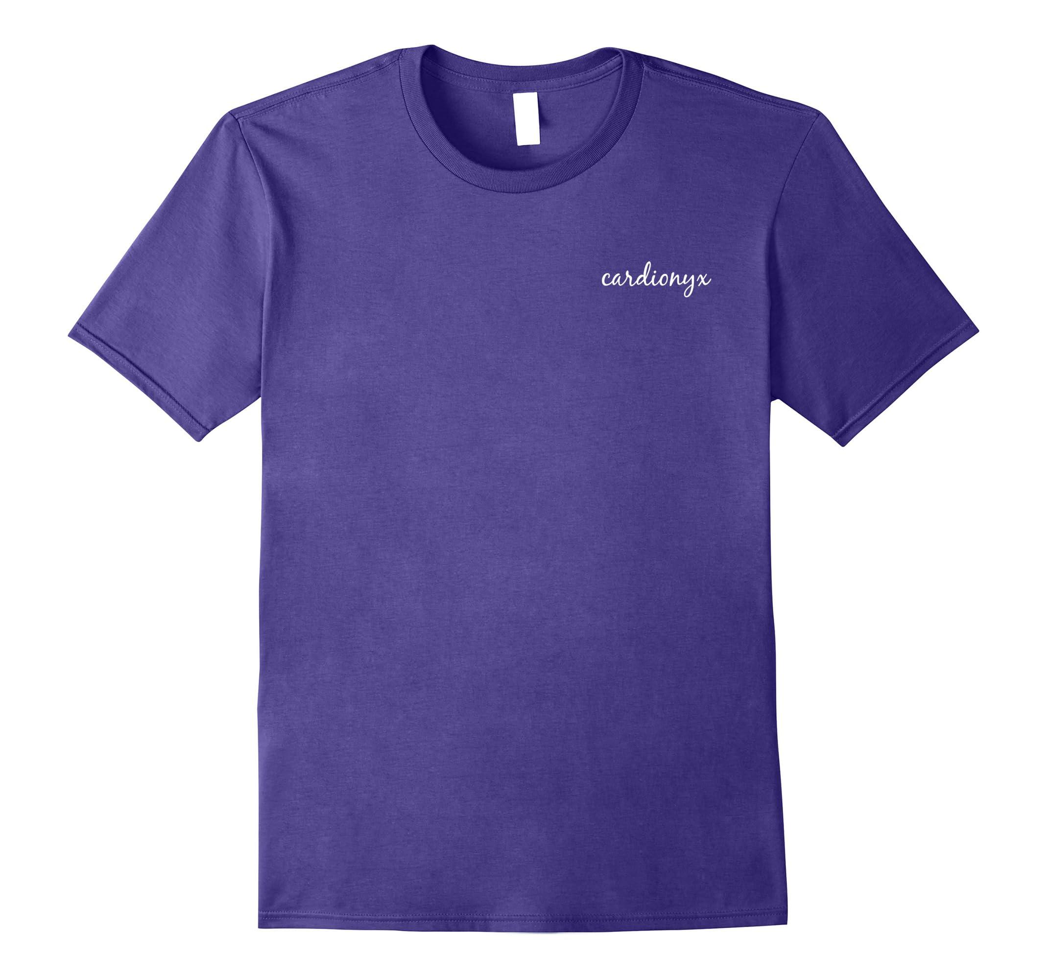Cardionyx Fitness Workout Activewear Script T-Shirt-RT
