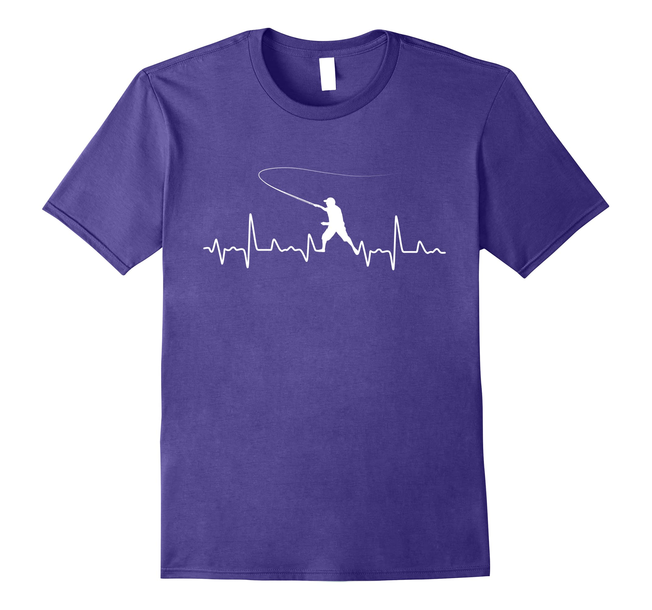 Fishing Fish Heartbeat T-Shirt / Perfect Gift for Fire Fishe-RT
