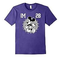 Disney Mickey Mouse Academy T Shirt Purple