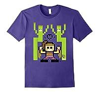 8 Bit Bayley Shirts Purple