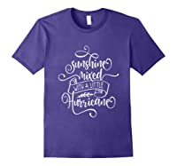 Sunshine Mixed Little Hurricane Shirts Purple