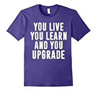 You Upgrade Divorcebreak Up Quote Party Gift Shirts Purple