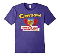 Carnaval De Barranquilla Marimonda T Shirt Purple