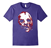 American Horror Story Asylum Bloody Face Shirts Purple