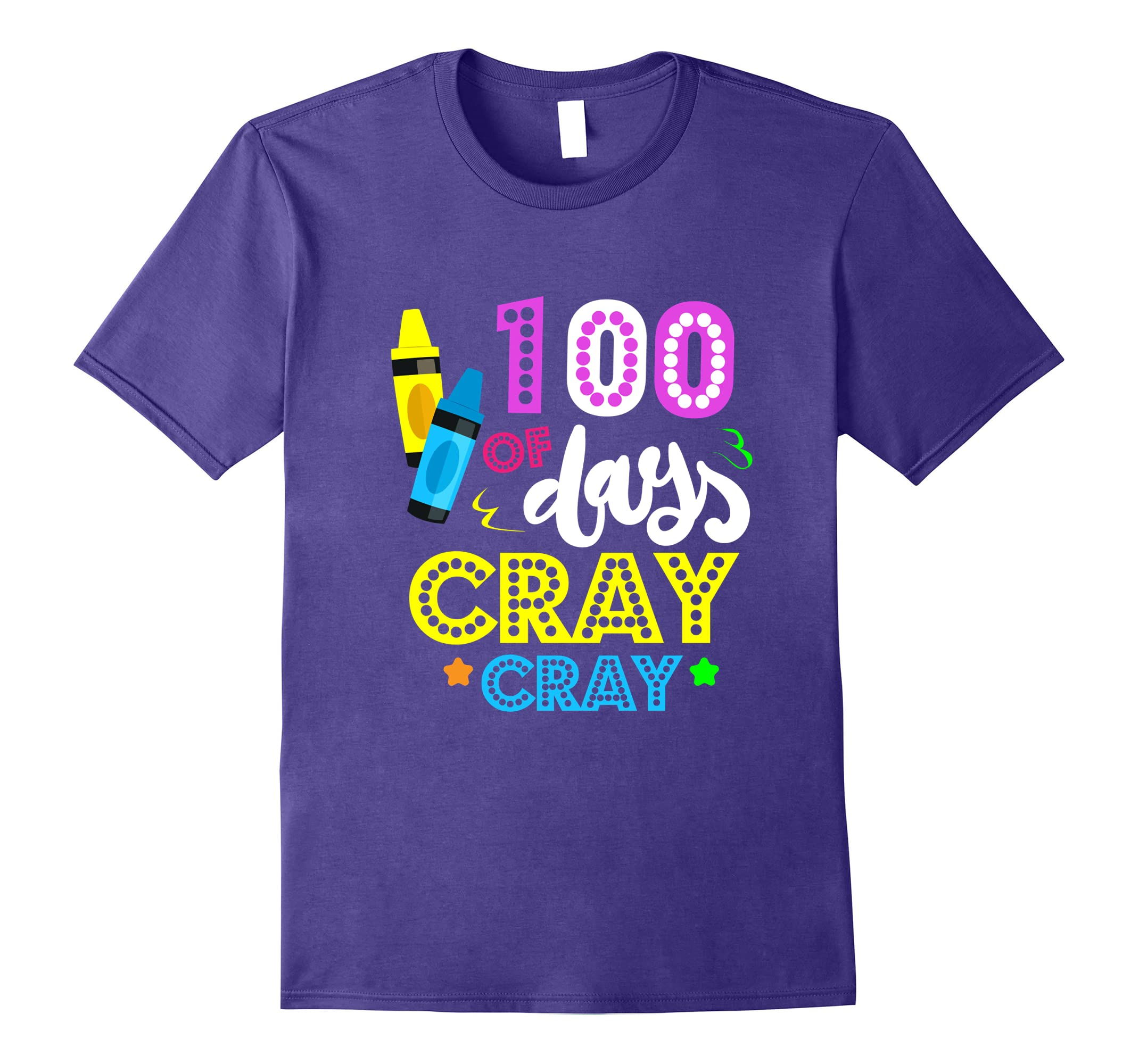 100 Days of Cray Cray Shirt - 100 Days of School Shirt-ah my shirt one gift