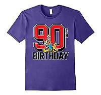 Disney Birthday Group 90th T Shirt Purple