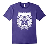 Pit Bull Face T For Pitbull And Apbt Lovers Shirts Purple