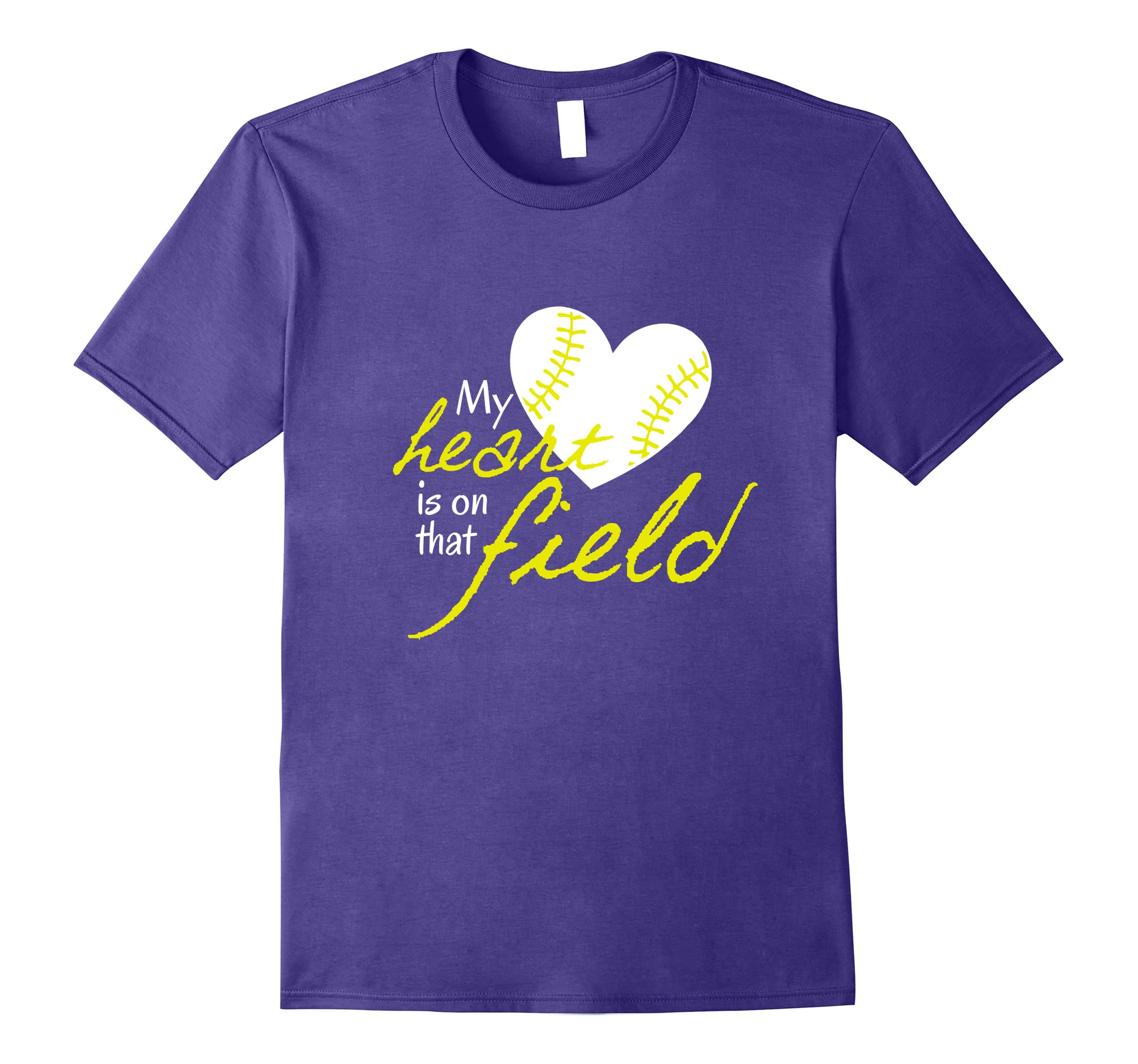 AS tees My Heart is on that Field-ah my shirt one gift