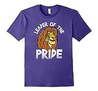 Lion King Adult Simba Leader Of Pride Graphic Shirts Purple