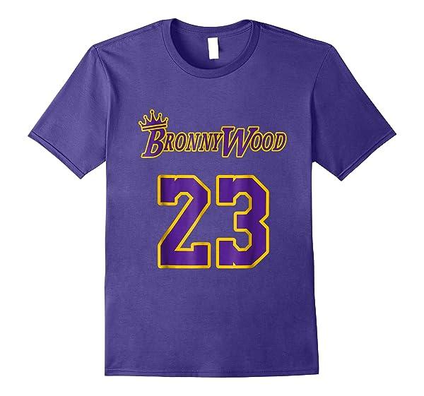 Bronnywood King Of Basketball Los Angeles Gift Shirts