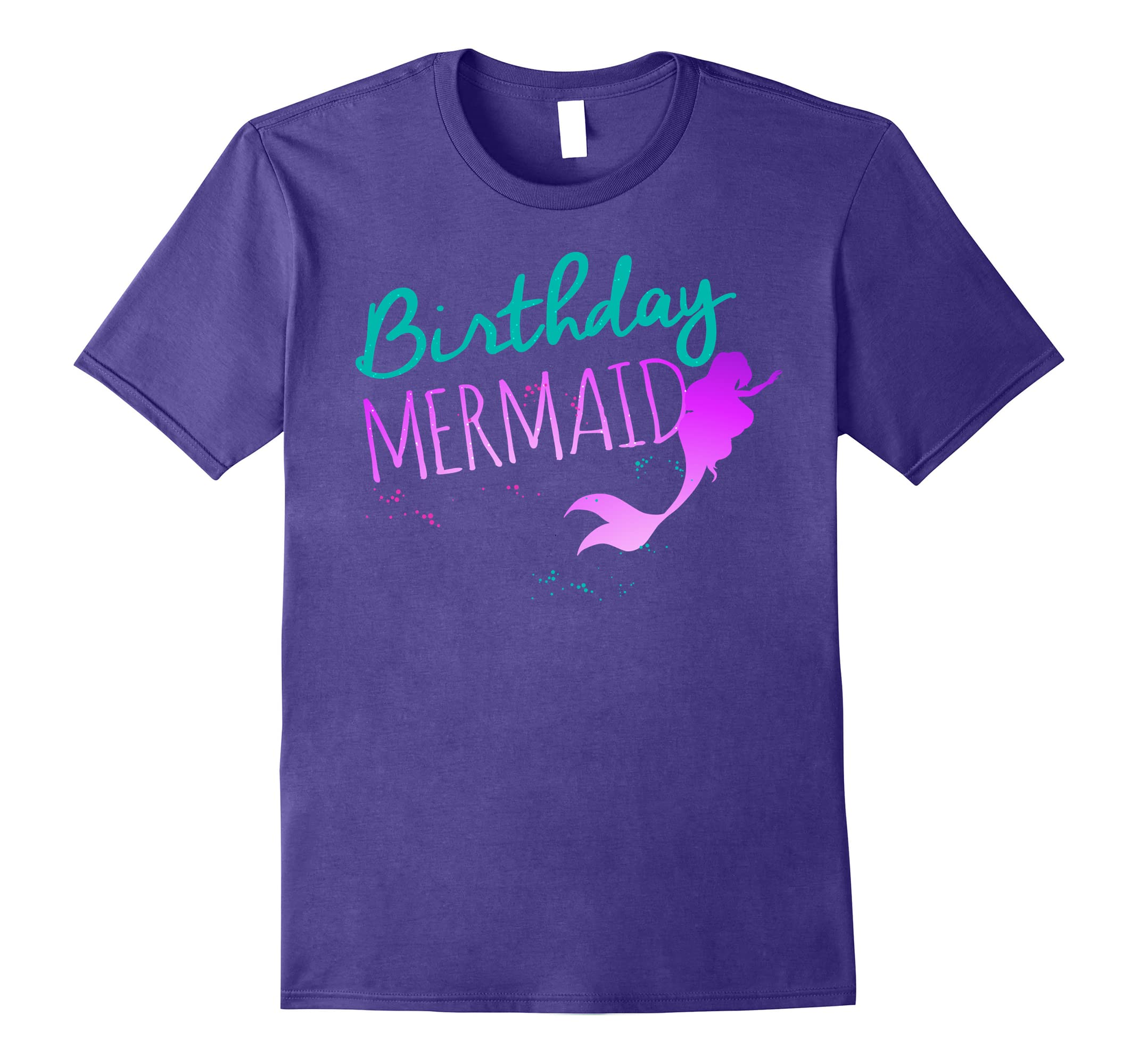 Mermaid Birthday Shirt Outfit For Little Girls Women Ah My One Gift