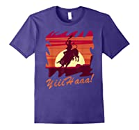 Rodeo 2019 T Shirt Houston Rodeo Cowboy Yiiihaaa Purple