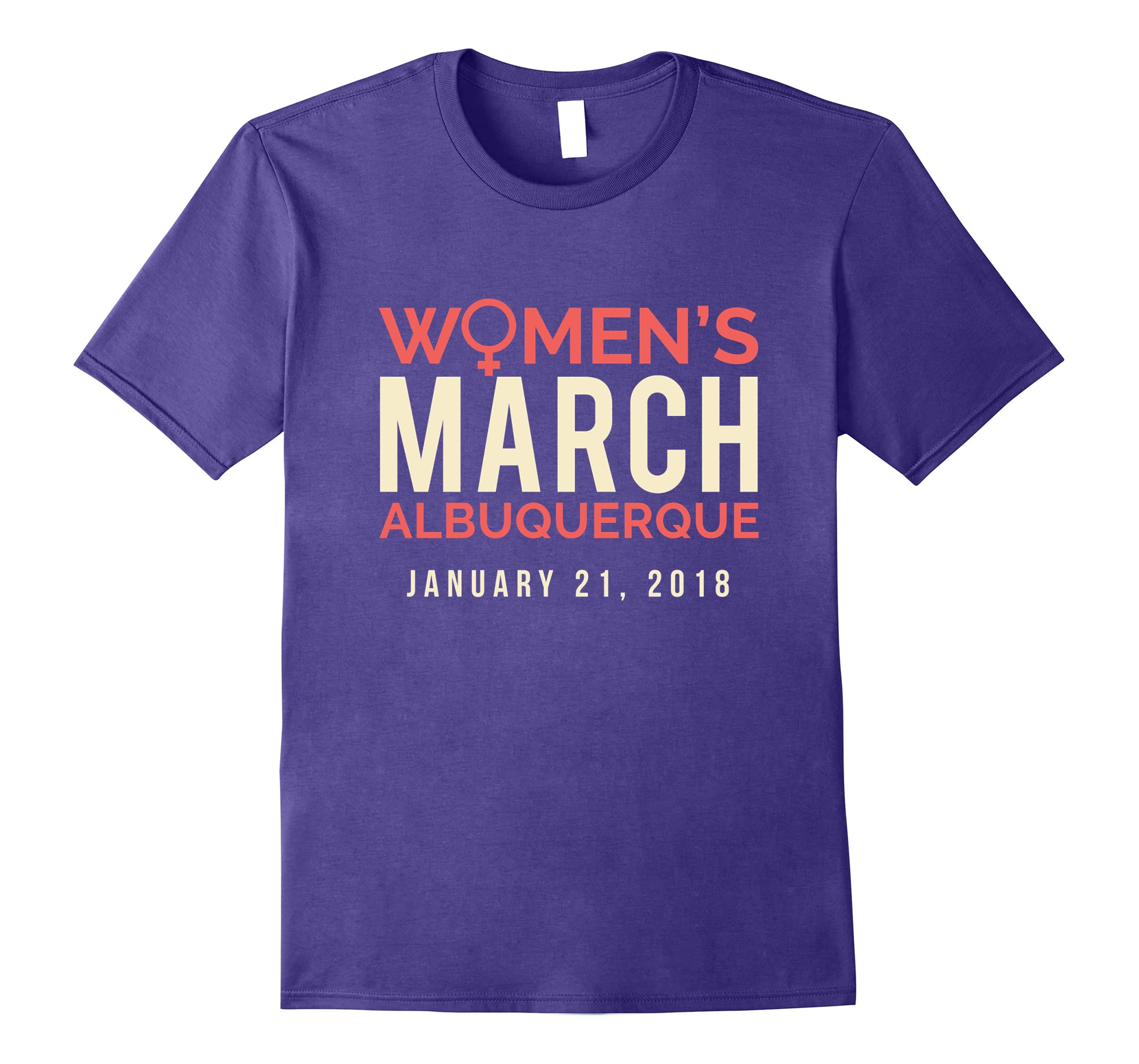 Albuquerque NM Women's March January 21 2018 Tee Shirt-ah my shirt one gift