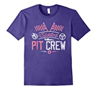 Racing Car Sister Racer Sister Pit Crew Gift Shirts Purple