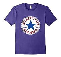 Atlantic City New Usa United States Out T Shirt Purple