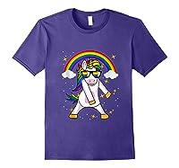 Lgbt Pride Month Unicorn Funny Rainbow Gay & Lesbian Gift Tank Top Shirts Purple