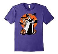 Disney Jafar The Powerful Halloween T Shirt Purple