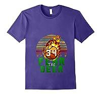 R The Deer Gift For Milwaukee Basketball Bucks Fans Fire Shirts Purple