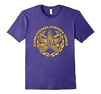 Jugoslovenska Nardona Armija Yugoslav People S Army Shirt Purple
