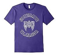 Ultimate Warrior Mask 1 Color Shirts Purple