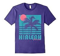 Hialeah Florida T Shirt Vintage Souvenirs Purple