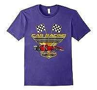 Car Racing Fanatic 500 Miles T Shirt Red Car Edition Purple