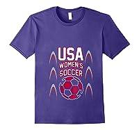 2019 Soccer Usa Team France Cup Tournat Shirts Purple