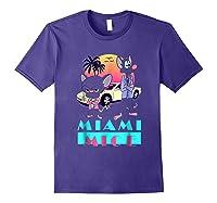 Miami Mice Shirts Purple