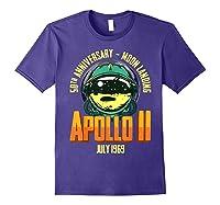 Apollo 11 50th Anniversary Shirts Purple