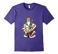 Gay Pride Month Santa Lgbtqqiaap Christmas Rainbow Holiday Shirts Purple