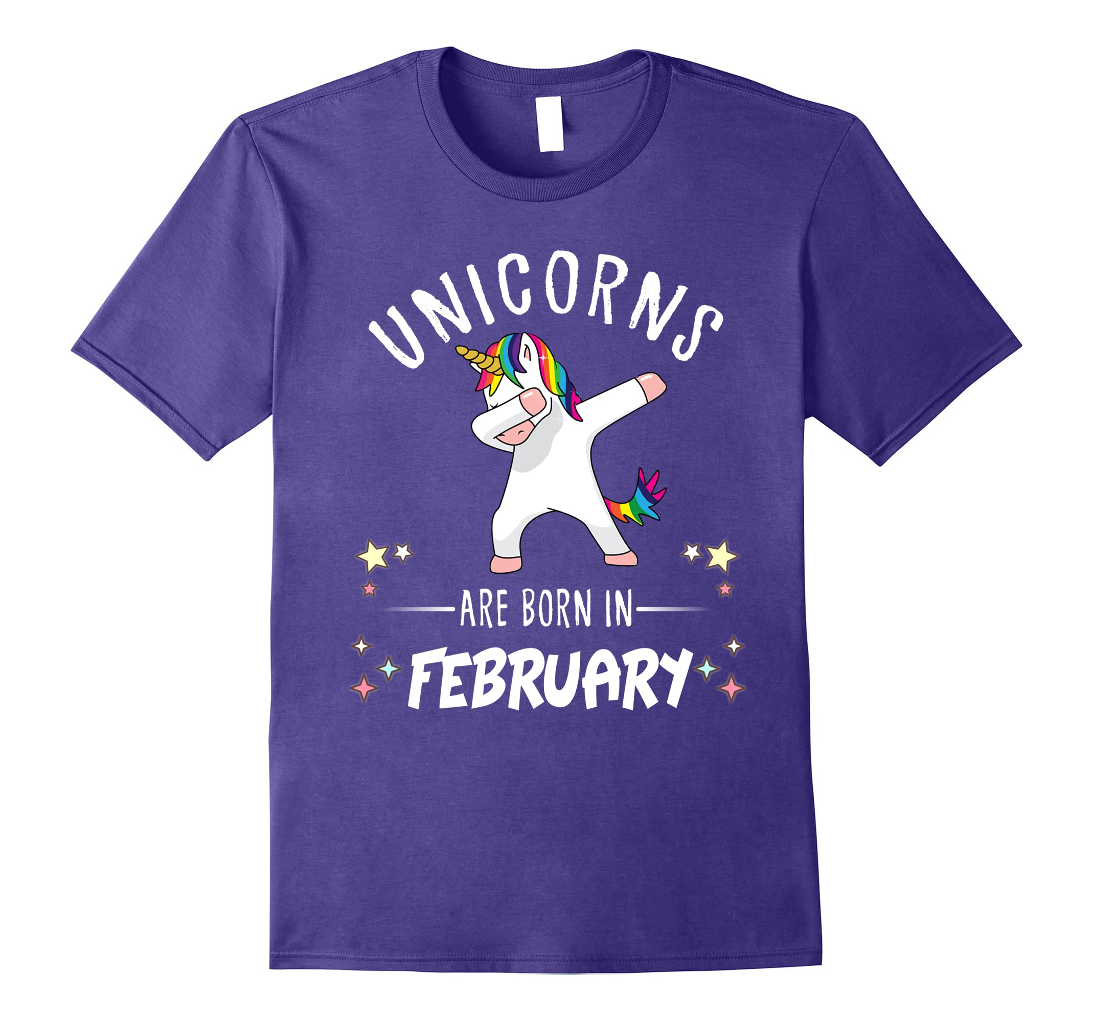 Unicorns are born February Shirt