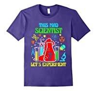 This Mad Scientist Is 7th Let's Experit 2012 Bday Shirts Purple