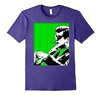 John F Kennedy 35th President - Jfk Smoking Cigar Blunt Premium T-shirt Purple