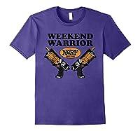 Hasbro Nerf Blaster Weekend Warriors T-shirt Purple
