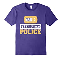 Thermostat Police T-shirt Purple