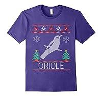 Oriole Christmas Shirts Purple