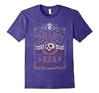 Snow Take A Bite Vintage Poster Shirts Purple