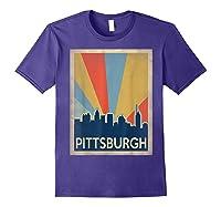 Classic Pittsburgh Shirts Purple