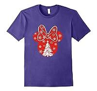 Disney Minnie Tree T Shirt Purple