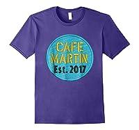 Cafe Martin T-shirt V1.4 Purple