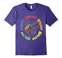 Chameleon Karma 80 S Pride 1980 S Pop Club Culture Peace Shirts Purple