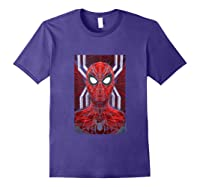 Marvel Spider-man: Far From Home Spidey Tank Top Shirts Purple