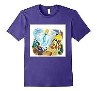 Disney Make A Wish T Shirt Purple