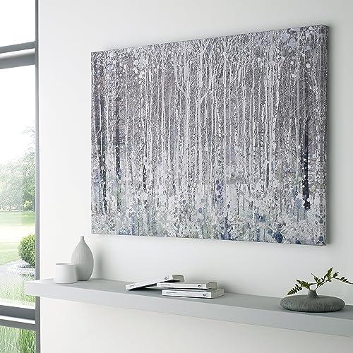 Silver Canvas Art Amazon Com