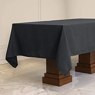 Kadut Rectangle Tablecloth (60 x 84 Inch) Charcoal Rectangular Table Cloth for 5 Foot Table | Heavy Duty | Stain Proof Tab...