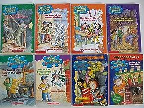 Jigsaw Jones (8 Set) Spooky Sleepover; Mummy; Class Clown; Scarecrow; Ghost; Detectives