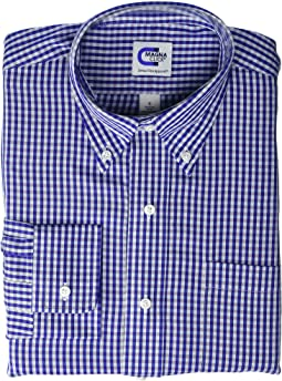 Purple/Blue Twill Gingham
