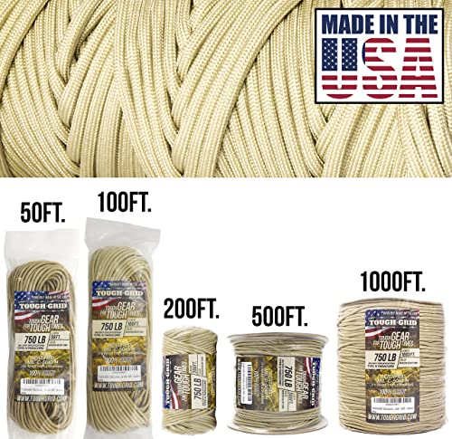 TITAN WarriorCord Forest amo 100 Feet  Authentic Military 50 Paracord MIL