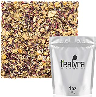 Tealyra - Night Time Detox - Lavender - Chamomile - Hibiscus - Licorice - Wellness Herbal Loose Leaf Tea - Digestive - Rel...